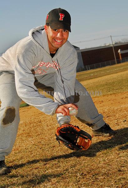 Obsandi Nunez. Freeport Baseball 2007. Photo by Kathy Leistner