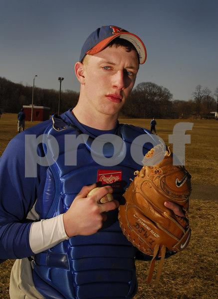 Daniel Wakeford, Malverne HS Baseball 2007. Photo by Kathy Leistner