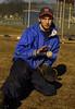 Pete Beyer, Malverne HS Baseball 2007. Photo by Kathy Leistner