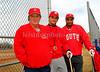 L-R Varsity Head Coach Ken Ward, Asst. Varsity Frank Alesia, JV Glenn Wyche. Photo by Kathy Leistner