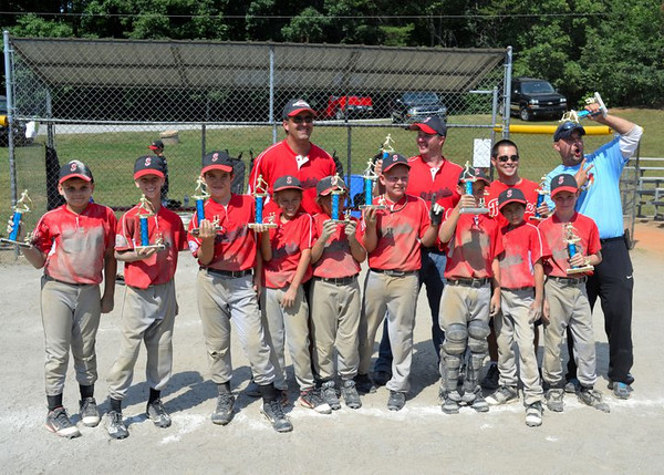 1st Place Stokesdale North Carolina Championship Team June 25, 2011 (Zach Miller Far Right)