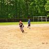 Brandon snagging ball at short stop