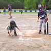 """Ashley """"touching"""" home plate 2012"""