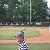 Brandon running the bases at Wintson Salem