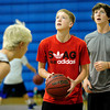 "Nathan Lehnerz sets up his shot during basketball camp at Broomfield High School on Monday June 4, 2012<br /> For more photos go to  <a href=""http://www.broomfieldenterprise.com"">http://www.broomfieldenterprise.com</a> <br /> Photos by Paul Aiken<br /> <br /> BROOMFIELD HIGH BASKETBALL CAMP"
