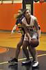 113 #15 Lauren McClure, ERHS. E. Rockaway HS Girls Basketball vs Sewanhaka HS, January 9th, 2009, 58-43. Photo by Kathy Leistner