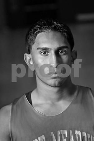 Azfar Khan, E. Meadow HS Basketball Team, 2007. November 19th, 2007. Photo by Kathy Leistner