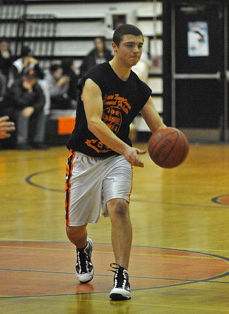#21 David McClure, ERHS.  Lynbrook. December 29th, 2009. Photo by Kathy Leistner