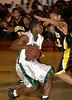 Elmont#10 Sophmore John Brown, #35 Justin Brown, Uniondale.-1-17-2007. Elmont vs Uniondale. Photo by Kathy Leistner