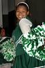Elmont cheerleader. 1-17-2007. Elmont vs Uniondale. Photo by Kathy Leistner.