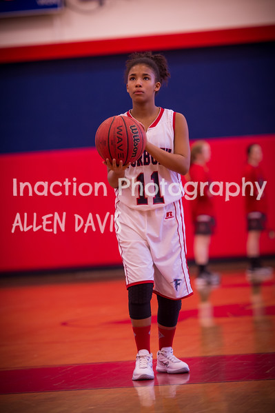 Forbush Middle School 7th Girls 1617 In Action Photography
