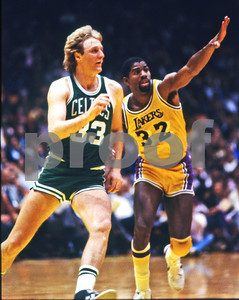 Bird and Magic, NBA Finals 1984