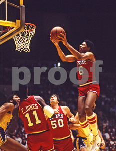 Dr J soars over the court