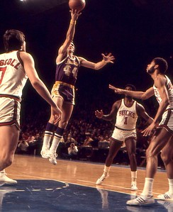 Jerry West layup