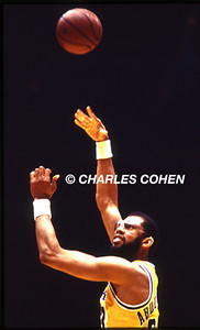 The Great Kareem Abdul-Jabbar and his unstoppable weapon, the sky-hook.