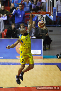 17 Jan 2010 - Birmingham NIA - Sheffield Sharks secured the first silverware of the season with a thrilling 89-86 victory over Chester Jets in the BBL Cup Final at the National Indoor Arena in Birmingham