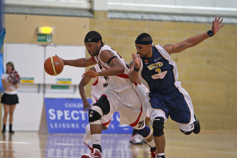 11th April 2010 - Guildford Spectrum -  Worcester Wolves kept up the pressure for a play-off berth with a convincing 88-102 win at Guildford Heat