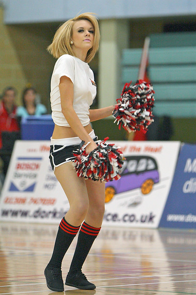 4th April 2010 - Guildford Spectrum - The Heat dreams of reaching the play-offs come to an end as the third placed Glasgow Rocks managed to bounce back from a tough first quarter