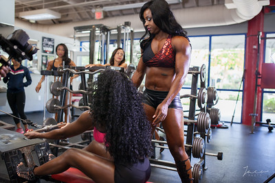 BBL Fitness Video shoot
