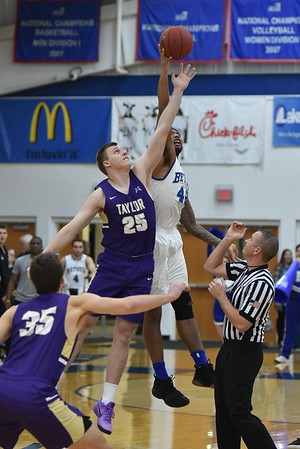 Bethel College Men's Basketball - 2017 vs Taylor University