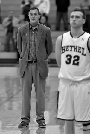 Bethel College Men's Basketball - 2017 Crossroads  League Tournament vs Indiana Weslyan University
