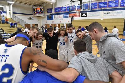 Bethel College Men's Basketball - 2017 vs Simmons College
