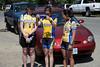 Fastest Women's team: Julia McDonnell, Helen Cooke, Karen, Nakagawa (2hr12min36sec)