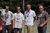 3rd overall (age corrected): Team Death Star -  Emile de Rosnay, Don Gillmore, Stephen Baird, and Charles Dethridge (1hr31min34sec actual)