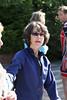 Organizer Kim Gard organizing