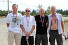 2nd by age standard: Michael Stoehr (56), Marcus Durrant (54), Lanny Smith (56), Richard Roorda (52); 1:49:09 (beat standard by 17:53)