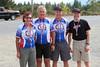 3rd (by age standard); Peg Labiuk (52), Dennis Labiuk (56), Ian Phillips (63), Simon Ciceri (44); 1:51:18 (beat standard by 17:04)