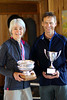 Carol Chester and Derek Tripp, Overall Winners for 2012