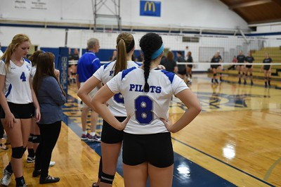Bethel College Volleyball - 2016 vs St. Francis University