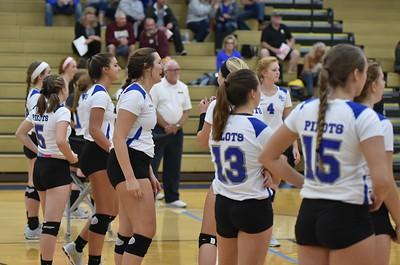 Bethel College Volleyball - 2017 vs Spring Arbor