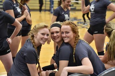 Bethel College Volleyball - 2017 vs Taylor University