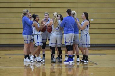 Bethel College Women's Basketball - 2017 vs Aquinas College