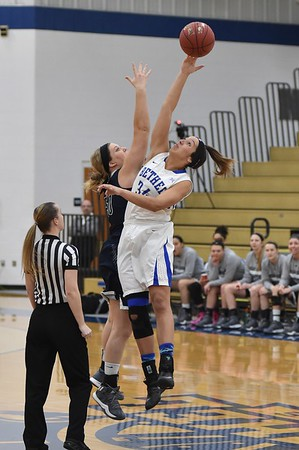 Bethel College Women's Basketball - 2017 vs Mount Vernon Nazarene