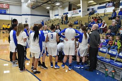 Bethel College Women's Basketball - 2017 vs Marian University