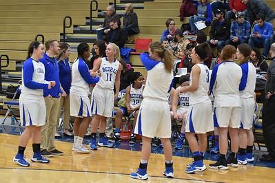 Bethel College Women's Basketball - 2017 vs Taylor University