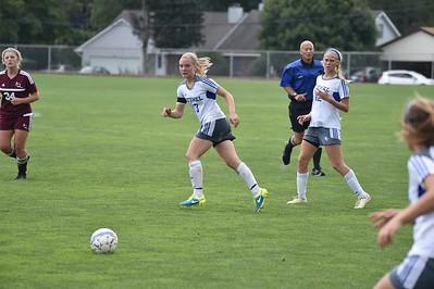 Bethel College Women's Soccer - 2016 vs Aquinas College