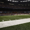 January 9, 2012: X during the AllState BCS National Championship game in the Mercedes-Benz Superdome in New Orleans, LA.