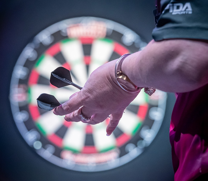 Women can, and do, play darts