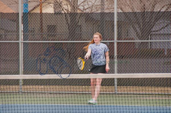 BEHS JV Girls Tennis 2018