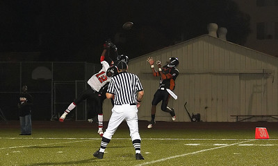 Tipped-ball interception by #1