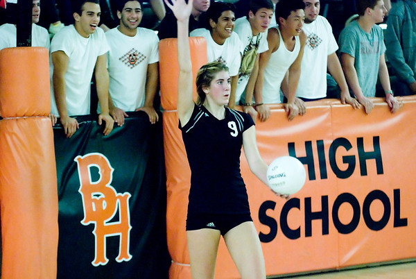 BHHS vs Northview HS Volleyball 11/10/09