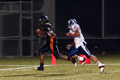 #1 of 3 Shot TD catch! First grab at the 2 yd line.