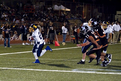 First of a two-shot TD run.