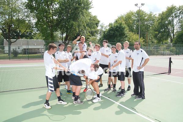 BHS Boys Tennis 2015-2016