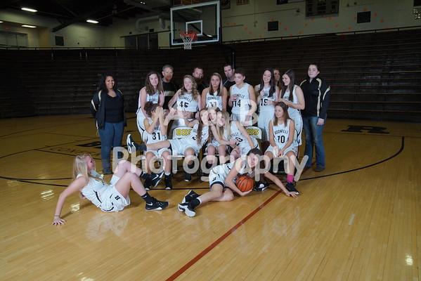 BHS Girls Basketball 2015-2016