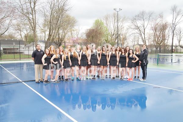 BHS Girls Tennis 2016-2017